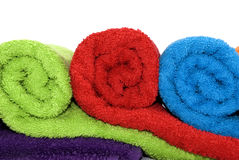 Colorful towels Royalty Free Stock Photo