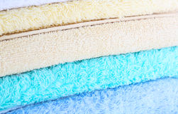 Colorful towels background Royalty Free Stock Image