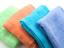 Colorful towels Royalty Free Stock Image