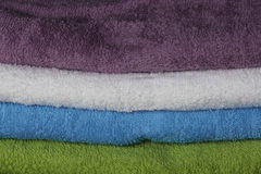Colorful towels Royalty Free Stock Photography