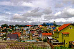 Colorful town of Dalat Stock Images
