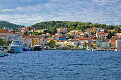 Colorful town of Mali Losinj waterfront. Island of Losinj, Dalmatia, Croatia Stock Photo