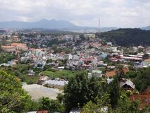 Free Colorful Town Of Dalat. Royalty Free Stock Photo - 182562305