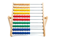 Colorful toy abacus Stock Photos