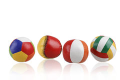 Colorful toy balls Royalty Free Stock Photos