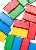 Colorful Toy Blocks Stock Photos