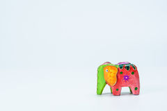 A colorful toy elephant 2 Royalty Free Stock Image