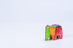 A colorful toy elephant 1 Royalty Free Stock Photo