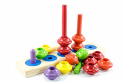 Colorful toy isolated Royalty Free Stock Photos