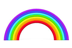 Colorful toy plasticine rainbow Stock Images