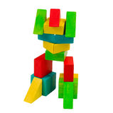 Colorful Toy Robot Royalty Free Stock Image
