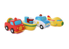 Colorful Toy Transportation royalty free stock images