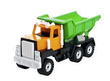 Colorful toy truck Stock Images