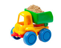 Colorful toy truck Royalty Free Stock Photos