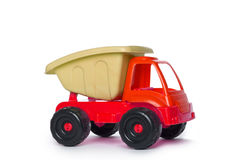 Colorful Toy Truck blue Stock Photography