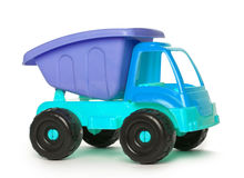 Colorful Toy Truck blue Royalty Free Stock Images