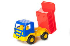 Colorful toy truck Stock Photo