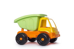 Colorful Toy Truck Stock Photography