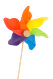 Colorful toy wind mill Royalty Free Stock Photography