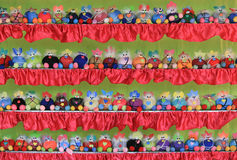 Colorful toys. On shelf in festival Royalty Free Stock Images