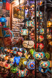 Colorful traditional arabic lanterns Stock Images