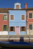 Colorful Traditional Buildings in Burano, Venice Royalty Free Stock Image