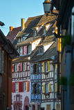 Colorful traditional french houses in Petite Venise, Colmar Royalty Free Stock Photo