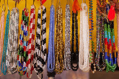 Colorful traditional indian jewelry Royalty Free Stock Photography