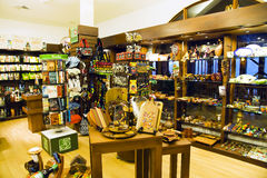 Colorful traditional shop handmade souvenirs Stock Photo