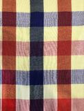Colorful traditional Thai cultural handmade fabric: loincloth Commer band, Kamar band, checker plaid or bathing cloth. Backdrop,. Background, pattern, texture royalty free stock photography