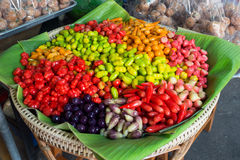 Colorful of traditional thai desert Stock Images