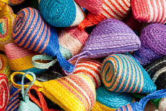 Colorful traditional Thai style basketwork Royalty Free Stock Image