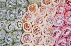 Colorful Traditional Turkish Delights Royalty Free Stock Images