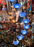 Colorful Traditional Turkish Lights royalty free stock photos
