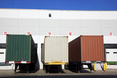 Colorful Trailers Stock Images
