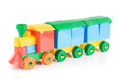 Colorful train Royalty Free Stock Photos