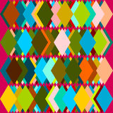 Colorful Trapezoid Background Stock Photos