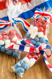 Colorful treats for the 4th of July Royalty Free Stock Images