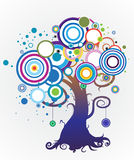 Colorful_tree Royalty Free Stock Photography