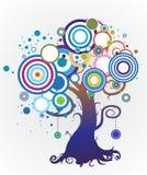 Colorful_tree Illustration Libre de Droits