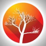 Colorful Tree Icon Stock Photo