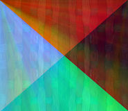 Colorful trianges Stock Photos