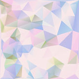 Colorful Triangle Abstract Background. Colorful Geometric abstract background illustration Royalty Free Stock Photos