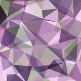 Colorful Triangle Abstract Background. Vector Pattern of Geometric Shapes Royalty Free Stock Photo