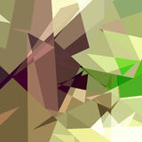 Colorful Triangle Abstract Background Stock Images