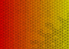 Colorful triangle background Royalty Free Stock Images