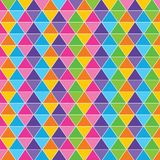 Colorful triangle background Stock Photo