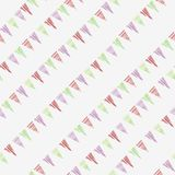 Colorful triangle diagonal print seamless repeating pattern vector illustration