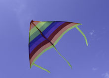 Colorful triangle kite Stock Photo