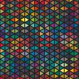 seamless abstract graphical plenty triangle pattern texture element in different colors stock illustration